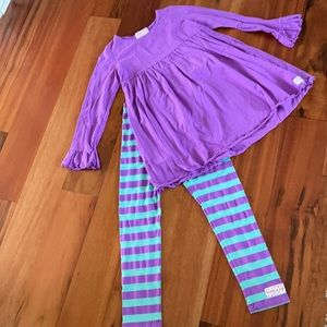 Ruffle Girl Outfit Size 12